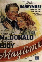 Maytime (1937) afişi