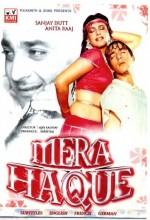 Mera Haque (1986) afişi