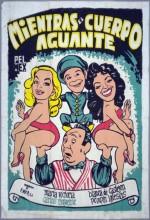 Mientras El Cuerpo Aguante (1958) afişi