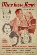 Mine Kære Koner (1943) afişi