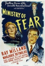 Ministry Of Fear (1944) afişi