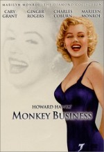 Monkey Business (ı) (1952) afişi