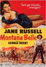 Montana Belle (1952) afişi