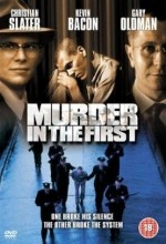 Murder in The First (1995) afişi