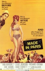 Made in Paris (1966) afişi