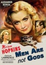 Men Are Not Gods (1936) afişi