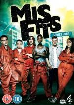 Misfits Sezon 4 (2012) afişi
