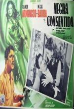 Negra Consentida (1949) afişi