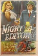 Night Editor (1946) afişi