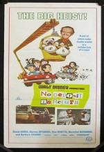 No Deposit, No Return (1976) afişi
