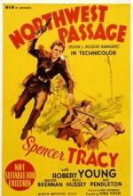 Northwest Passage (1940) afişi