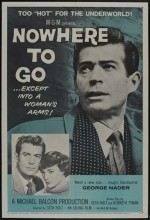 Nowhere To Go (1958) afişi