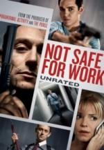 İş İçin Güvenli Değil (2014) afişi