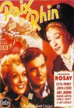 Paix Sur Le Rhin (1938) afişi