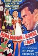 Papa, Maman, La Bonne Et Moi... (1954) afişi