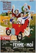 Papa, Maman, Ma Femme Et Moi... (1955) afişi