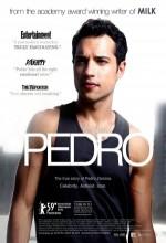 Pedro (2008) afişi