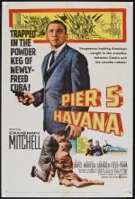 Pier 5, Havana (1959) afişi