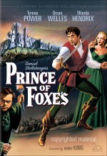 Prince Of Foxes (1949) afişi
