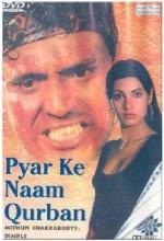 Pyar Ke Naam Qurbaan (1990) afişi