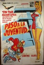¡paso A La Juventud..! (1958) afişi