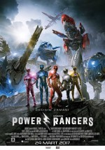 Power Rangers (2017) afişi