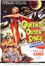 Queen Of Outer Space (1958) afişi