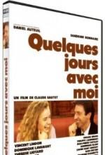Quelques Jours Avec Moi (1988) afişi