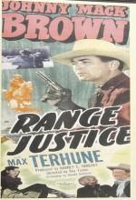 Range Justice (1949) afişi