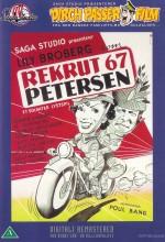 Rekrut 67, Petersen (1952) afişi