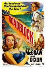 Roadblock (1951) afişi
