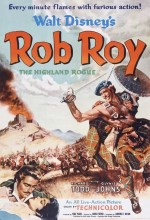 Rob Roy, The Highland Rogue (1953) afişi
