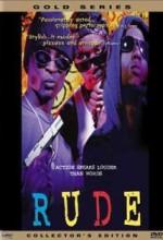 Rude (1995) afişi