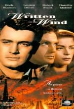 Rüzgâra Yazılanlar (1956) afişi