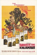 Sands Of The Kalahari (1965) afişi