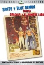 Santo Y Blue Demon Vs Drácula Y El Hombre Lobo (1973) afişi