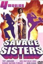 Savage Sisters (1974) afişi