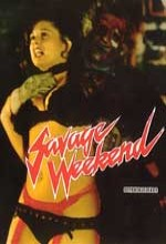 Savage Weekend (1979) afişi