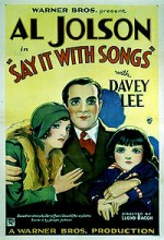 Say ıt Wıth Songs (1929) afişi