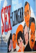 Sexlingar (1942) afişi
