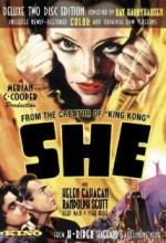 She (1935) afişi
