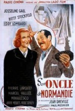 Son Oncle De Normandie (1939) afişi
