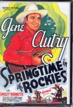Springtime In The Rockies (1937) afişi