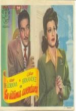 Su última Aventura (1946) afişi
