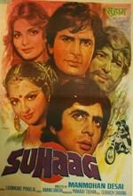 Suhaag (1979) afişi