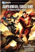Superman/Shazam - The Return Of Black Adam (2010) afişi