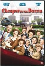 Cheaper By The Dozen (1950) afişi