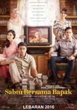 Sabtu Bersama Bapak (2016) afişi