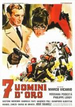 Sette Uomini D'oro (1965) afişi