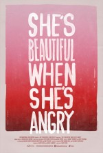 She's Beautiful When She's Angry (2014) afişi